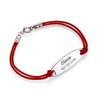 Personnalisation d'un bracelet avec cordon en imitation cuir