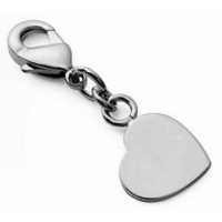 mini Charms petit coeur argent