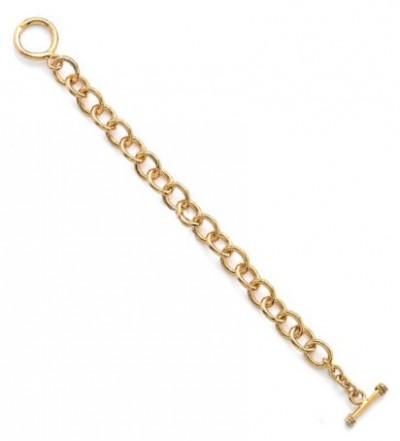 Bracelet en plaqué or pour charms
