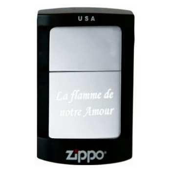 Boite cadeau spécial Zippo