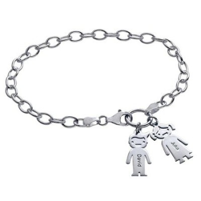 Bracelet Charms enfants Argent à graver