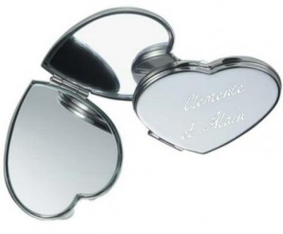 Coeur miroir personalisable