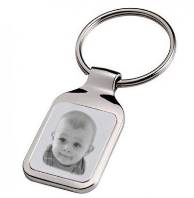 porte clefs rectangle photo