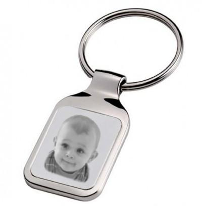 porte clefs rectangle photo