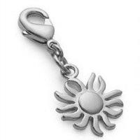 Bijou mini Charms soleil en argent