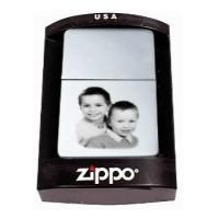 Boite pour zippo personnalisé avec une photo