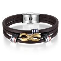 Bracelet avec son charms infini gravé avec votre texte.