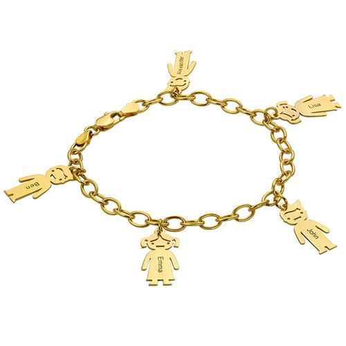 bracelet prénom enfant gravé